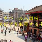 【2018年最新版】ネパール入国時の観光ビザ取得の手順 オンライン申請機の使い方